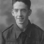 Dad at Seventeen in Army Uniform